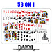 53 On 1  (BLUE BACK) by Daryl - Tour