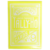 Tally Ho Reverse Circle back (Yellow) Limited Ed. by Aloy Studios / USPCC