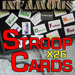 Stroop Cards (Infamous Refill) by Magic World - Tour