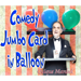 Comedy Card In Balloon by Quique Marduk - Tour