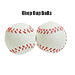 Chop Cup Balls Large White Leather (Set of 2) by Leo Smesters - Trick