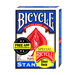 Bicycle Short Deck (Blue) by US Playing Card Co. - Tour