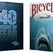 Bicycle 40 Years of Fear Jaws Playing Card by Crooked Kings