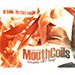 Mouth Coils 25 foot (Black/Orange) by Candy Brand - Tour