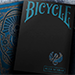 Bicycle Scarab (Blue) Playing Cards by Crooked Kings