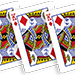 Flash Poker Card King of Diamonds (Ten Pack) - Trick