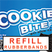 Spare Rubberbands for Cookie Bite Plus (10 pieces) - Tour