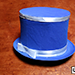 Collapsible Top Hat (Blue) by Mr. Magic - Tour