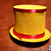 Collapsible Top Hat (Yellow) by Mr. Magic - Tour
