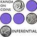 Kainoa on Coins - Inferential (DVD and Gimmicks) - DVD