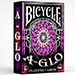 Bicycle A Glo Playing Cards (Red)