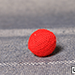 Crochet Ball .75 inch Single (Red) by Mr. Magic - Tour