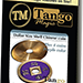 Dollar Size Shell Chinese Coin (Purple) by Tango Magic (CH028)