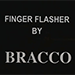 Finger Flasher (Black) by Jeremy Bracco - Trick