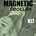 Magnetic Dollar Kit (Makes 6 Magnetic Dollars) by Chazpro