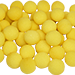 "1"" Super Soft Sponge Ball (Yellow) Bag of 50 from Magic By Gosh"