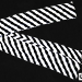 "Production Streamer Zebra 6"" x 18' (Black and White) by Mr. Magic - Tour"