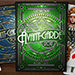 Avant-Garde United Cardists 2017 Playing Cards by Edgy Brothers (Green)