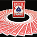 Bicycle Paris Back Limited Edition Red Playing Cards by JOKARTE