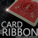 Card on Ribbon (RED) by Mickael Chatelain - Tour