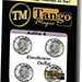 Autho 4 Eisenhower Dollar (D0179) (Gimmicks and Online Instructions) by Tango - Tour