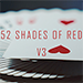 52 Shades of Red (Gimmicks included) Version 3 by Shin Lim - Tour