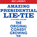 Amazing Presidential Lie Tie by Milt Larsen - Tour