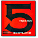5X5 Scotland book by Peter Duffie