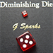 Diminishing Die (Red) by G Sparks - Tour