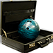 Bowling Ball from Briefcase by Daytona Magic - Trick