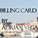 Billing Card by Adrian Vega - Tour