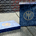 FIBER BOARDS Cardistry Trainers (Sodalite) by Magic Encarta - Trick
