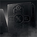 Double Black Waterproof Playing Cards