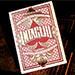 Intaglio Red Playing Cards by Jackson Robinson