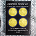 Gripper Coin (Set/Euro) by Rocco Silano - Tour