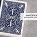 Bicycle Maiden Marked Playing Cards (Blue)