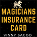 Magicians Insurance Card by Vinny Sagoo - Tour