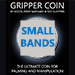 Gripper Coin Bands (Small) by Rocco Silano - Trick