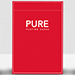 Pure (Red) Playing Cards