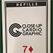 7D Refill Close-up Cardiographic by Martin Lewis - Tour
