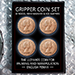 Gripper Coin (Set/English Penny) by Rocco Silano - Tour