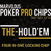 The Hold'Em Chip (Gimmicks and Online Instructions) by Matthew Wright - Trick