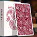 Limited Edition Paisley (Ruby Red) Playing Cards