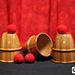 Cups and Balls (Wooden) by Mr. Magic - Tour