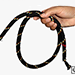 Stiff Rope (Black/Sport) by Mr. Magic - Trick