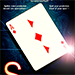 SPLIT-CARD (Blue) by Mickael Chatelain - Trick