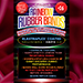 Joe Rindfleisch's SIZE 16 Rainbow Rubber Bands (Vince Mendoza - Mr. Pink) by Joe Rindfleisch - Trick
