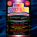 Joe Rindfleisch's SIZE 16 Rainbow Rubber Bands (Hanson Chien - Blue Pack) by Joe Rindfleisch - Trick
