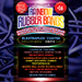 Joe Rindfleisch's SIZE 16 Rainbow Rubber Bands (Dan Harlan - Deep Purple ) by Joe Rindfleisch - Trick
