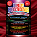 Joe Rindfleisch's SIZE 16 Rainbow Rubber Bands (Joe Rindfleisch - Red Pack) by Joe Rindfleisch - Trick